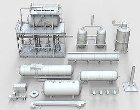 Industrial Production Parts 3D