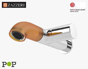3D Zazzeri Pop Tap Wall Faucet