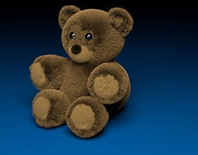 Teddy bear 3D asset