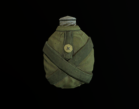 Army flask 3 3D model