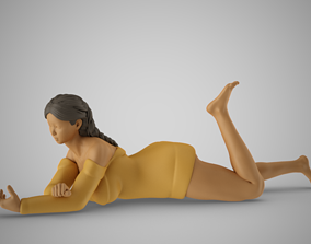 Autumn Girl 3D print model
