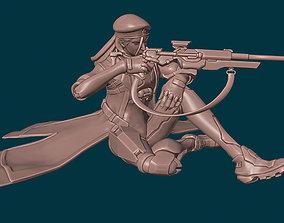 3D printable model Captain Amari