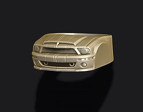 3D printable model car ring 38