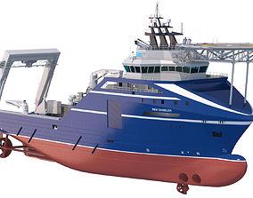 Anchor Handling Tug Rem Gambler 3D