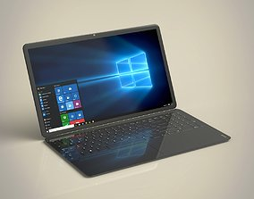 3D model Thin Laptop