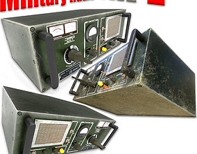 Military Radio - PBR Game-Ready 3D asset