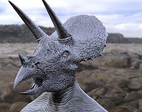 Dino Head 2 Mask 3D model