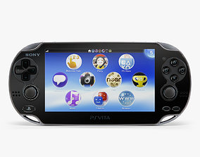 Sony PlayStation Vita 3G 3D model low-poly