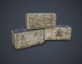 3D model Old Blocks