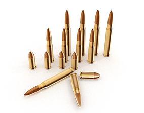 Bullet 3D asset