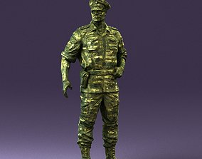 General in ambush camouflage 0923 3D