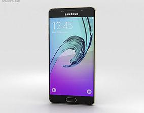 Samsung Galaxy A5 2016 Champagne Gold sm-a510f 3D model