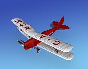 Dehavilland DH82 Tiger Moth V06 3D