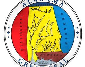 Alabama Seal 3D model