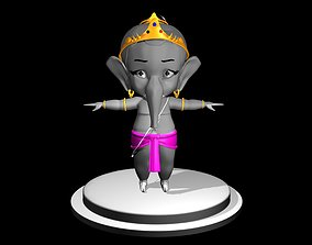 3d bal ganesh simple