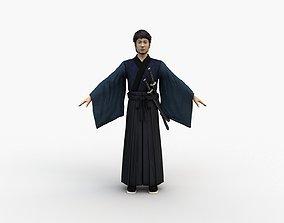 Kimono Man 3D model