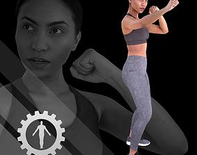 3D model realtime Female Scan - Calypso 119
