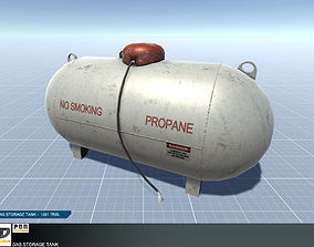 Gas Storage Tank 3D model