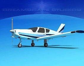 Socata TB-20 Trinidad V09 3D model