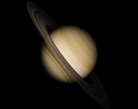 Saturn 3D model huygens