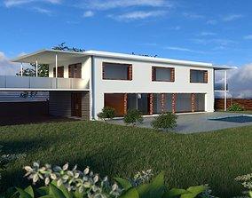 3D model realtime Modern house