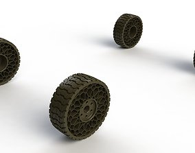 Airless tyre 3D print model