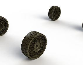 Airless tyre 3D print model