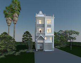 2 floors villa 3D