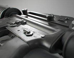 3D M4 Assault Rifle