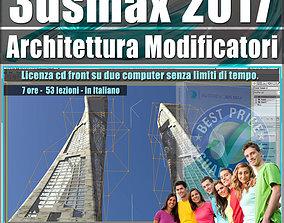008 3ds max 2017 Architettura e Modificatori vol 8 cd 1