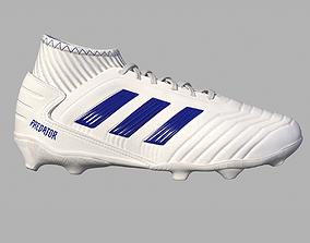 3D model football FootBall Boots