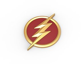 3D printable Flash emblem hobby