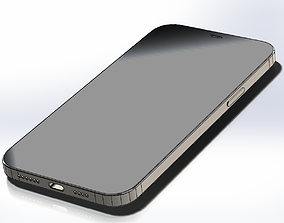3D Real size SOLIDWORKS model iPhone 12 Pro Max