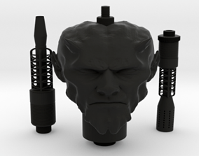 3D print model SAMAN HOOKAH FULL KIT