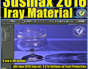 3ds max 2016 Iray Material Volume 3 cd front