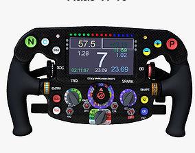3D model VF16 Steering Wheel