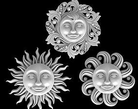 3D sun sun