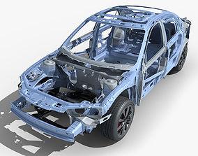 3D model Car Frame 03
