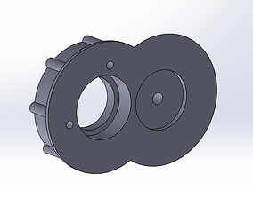 3D print model 1 16 Heng long Panzer 4 bearing box