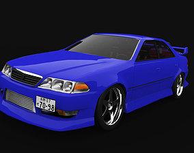 3D model Toyota Mark 2 jzx100