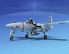 Grumman F7F Tigercat V07 3D model