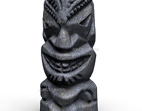 Hawaiian Totem 3D print model