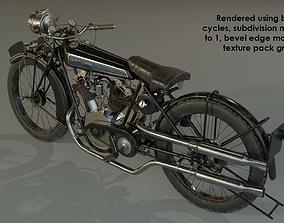 1924 Croft-cameron classic bike 3D model