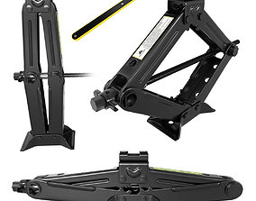 Scissor Jack Car with Hand Crank Portable RV 3D