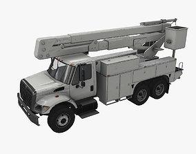 3D model Bucket Truck
