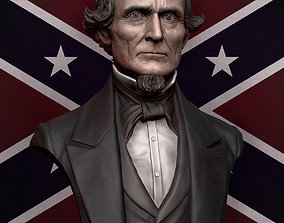 3D print model Jefferson Davis
