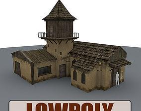 Old Farm Building 3D