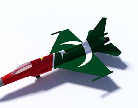 JF-17 Thunder 3D model air