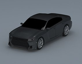 3D model cellphone-charger Dodge charger