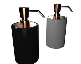 Soap Dispenser 3D model decor